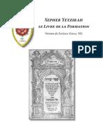 Sepher Yetzirah_ Saâdia Gaon