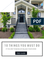 10 Selling Must Do's