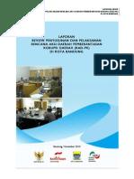 Laporan Review Penyusunan Dan Pelaksanaan RAD PK Di Kota Bandung