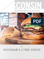 COVID 19 Restaurants and Food Service Guidelines 1