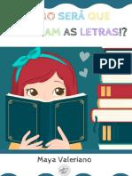 Alfabeto fônico - AMOSTRA GRÁTIS