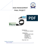 Change Management (Askari Bank)