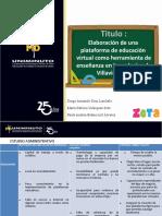 PLATAFORMA VIRTUAL ESTUDIO ADMINISTRATIVO