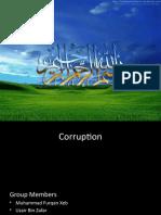 Corruption in Pakistani Society
