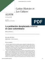 La población desplazada interna_ el caso colombiano.pdf