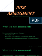 RISK ASSESSMENT BASICS QUESTION AND ANSWER.pptx