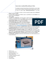 Tutorial Como Rotear o Modem DSL-500B Para Velox