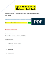 The Language of Medicine 11th Edition by Chabner – Test Bank