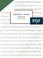 06. - APOSTILA - EXERCICIOS - TRAÇÃO - RESOLUÇÃO