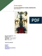 Estudio de santuarios de Cruz Parlante en Yucatán y Quintana Roo
