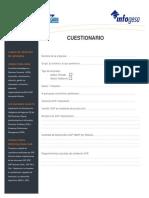 Cuestionario UPGRADE SAP