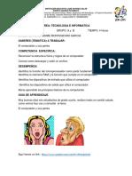 GUIA DE TRABAJO El pc y sus partes (2)