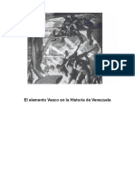 El elemento Vasco en la Historia de Venezuela