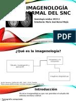 Imagenología normal del snc 1.