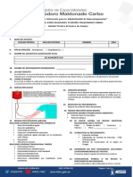 FMT-JUTBS-101 Consentimiento Informado para  la  Administración de Hemocomponentes V 1.0