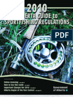 Alberta Fishing Regs 2010