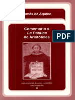 Aquino, Tomás - Comentario a la Política de Aristóteles.pdf