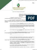 LEI Nº 17.091 - Alteração de Subsídios Até 2012