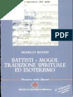 Battisti-Mogol. Tradizione Spirituale Ed Esoterismo Di Marco Rossi