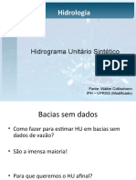 4. HIDROGRAMA UNITÁRIO II