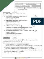 Devoir de Contrôle N°2 - Math - Bac Mathématiques (2015-2016) Mr NOBBIGH Dhaou