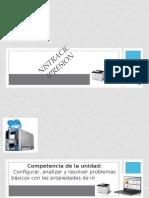 Administración de la Impresión