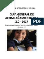 GUIA GENERAL DE ACOMPAÑAMIENTO 2017