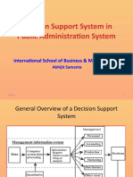 Decision Support System for Public Administration
