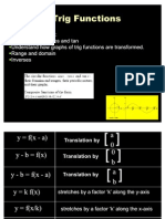 Lesson 1- The Trig Functions