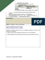 GUIA DE APRENDIZAJE 1 Álgebra 8°
