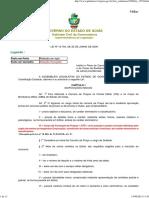 Lei 15.704 - Plano de Carreira de Praças Da Polícia Militar e Bombeiro Militar Do Estado de Goiás