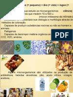 INTRODUÇÃO Microbiologia