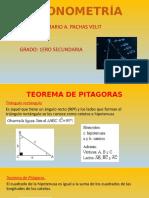 Trigonometría 1ero IV
