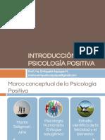 Imtroducción a la Psicología Positiva