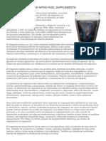 Correos electrónicos CITRATO DE MAGNESIO
