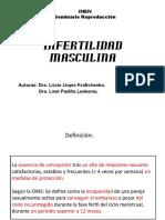 Infertilidad Masculina Presentación seminario.pptx