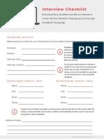 interview-checklist