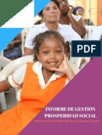 Informe de Gestión Prosperidad Social 2017