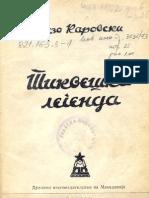 KAROVSKI Lazo - Tikveshka Legenda (1948.)
