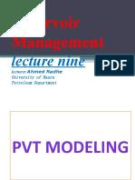 lecture nine pvt modeling44