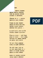 RACIN Kosta - Denovi