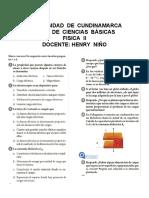 Taller de  cARGAS  ELÉCTRICAS - Física II solucion.docx