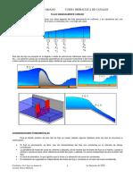 Folleto de flujo gradualmente variado FGV