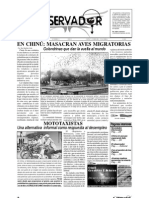 Periodico El Observador Edicion 1