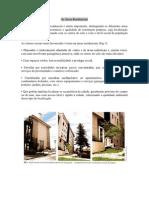 Áreas residenciais