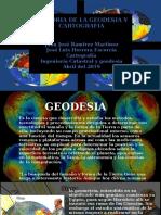 Historia de la Geodesia y Cartografía