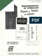 Procedimientos de Operacion (Despejes y Trabajos en caliente) (1)