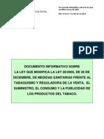 Ley Antitabaco en España