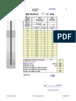 Pile Design C Phi Soil