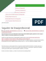 Seguidor de línea(profesional) _ tdrobótica
